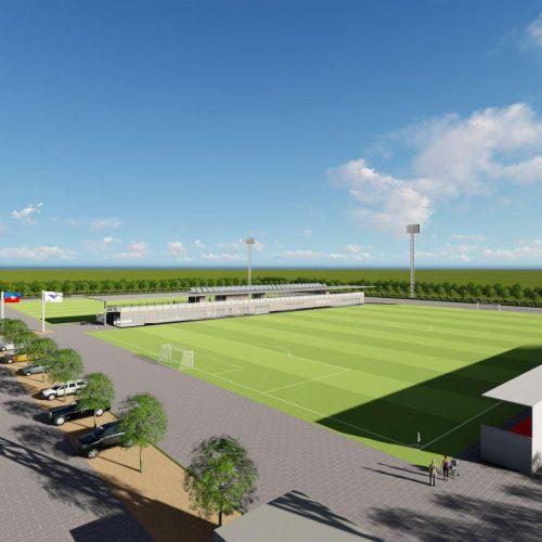 Project for football facility F.U.S.A. Haiti
